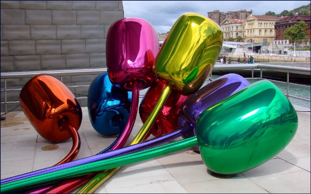 """Tulipes"" de Jeff Koons"